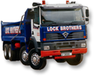 Example of a Lock Bros haulage vehicle